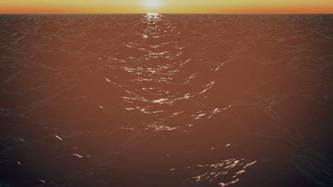 Moving Sea Surface CG動画