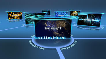 Media Network After Effects Project