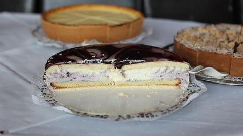 Cake stock footage