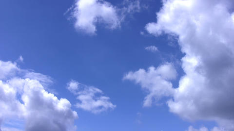 Clouds Loop stock footage