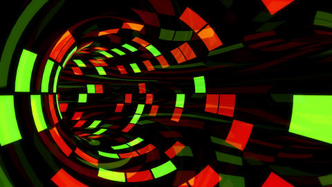 Disco Dance Tunnel F 01 4k Animation