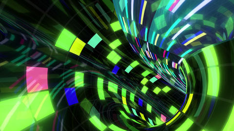 Disco Dance Tunnel Dx 03 4k Animation