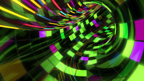 Disco Dance Tunnel Dx 03 4k Stock Video Footage