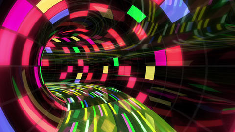 Disco Dance Tunnel Dx 01 4k Animation