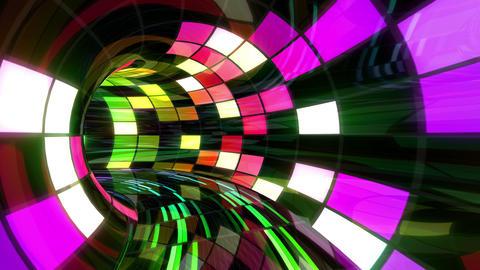 Disco Dance Tunnel D 01 4k Stock Video Footage