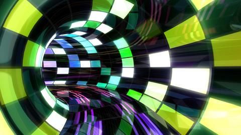 Disco Dance Tunnel D 01 4k Animation