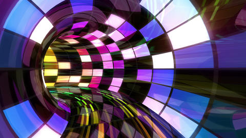 Disco Dance Tunnel D 01 4k, Stock Animation