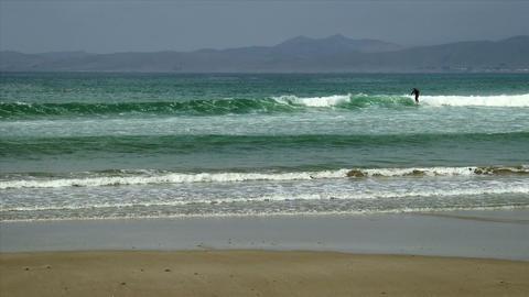 Surfers in Morrow Bay Footage