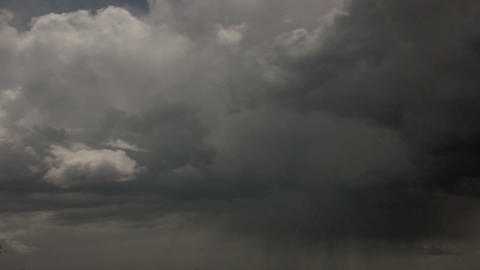 Timelapse nimbostratus clouds Live Action