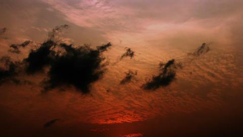 Timelapse altostratus clouds Live Action