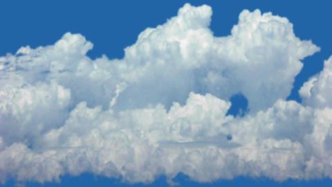 Timelapse cumulonimbus clouds Live Action