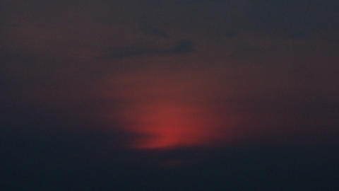Timelapse pastel sunset Live Action