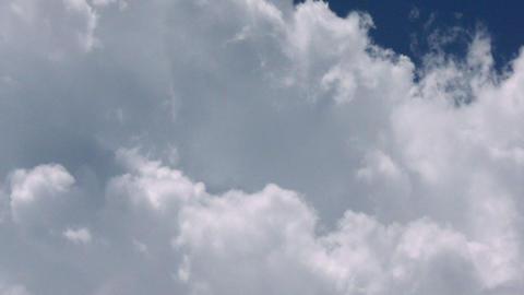 Timelapse altocumulus clouds Footage