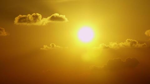 Timelapse vibrant sunset Live Action