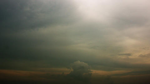 Timelapse cloud layers Footage