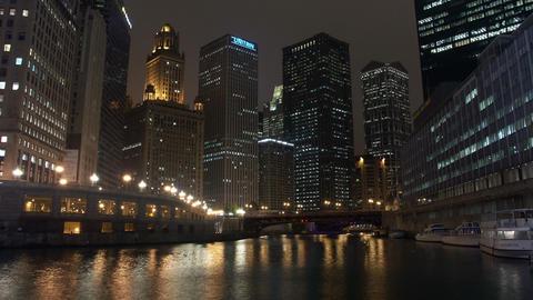 Timelapse Chicago River Live Action