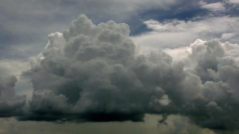 Timelapse cumulonimbus clouds Footage