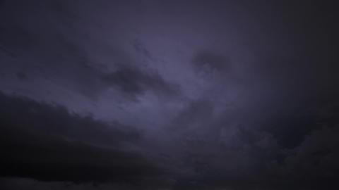 Timelapse lightning storm Live Action