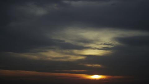 Timelapse dark clouds Live Action