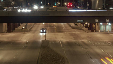 Timelapse overpass traffic Live Action