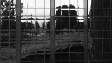 Timelapse glass windows Footage