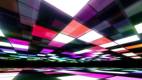 Disco Dance Floor Room A 02 4k Animation