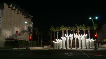 Timelapse art installation Footage