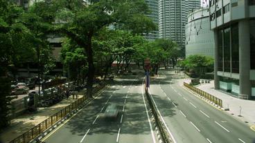 Timelapse Kuala Lumpur traffic Footage