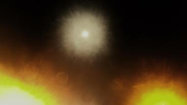 Timelapse light explosion Footage