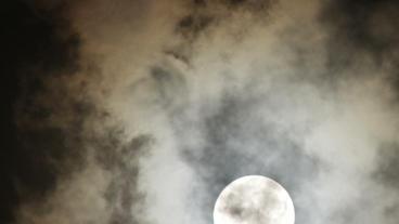 Timelapse moon night Footage