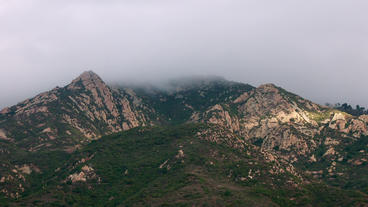 Timelapse Santa Monica Mountains stock footage