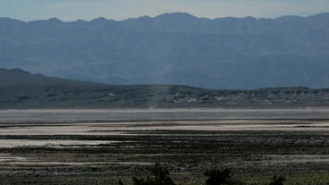 Timelapse Desert Landscape stock footage