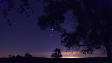 Timelapse star field Footage