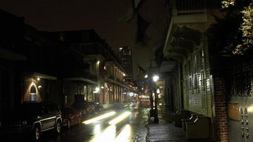 Timelapse French Quarters sidewalk Footage
