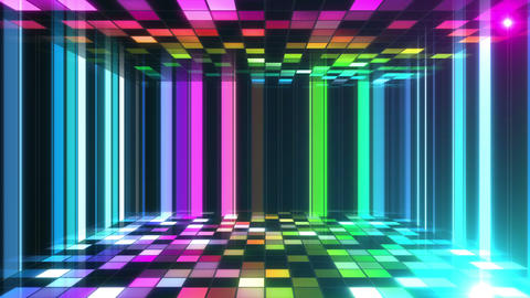 Disco Dance Floor Room B 05f 4k Animation