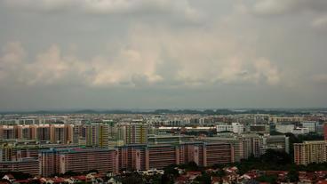 Timelapse Singapore landscape Footage