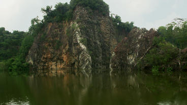 Timelapse Little Guilin Lake Footage