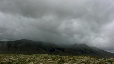 Timelapse mountain landscape Footage