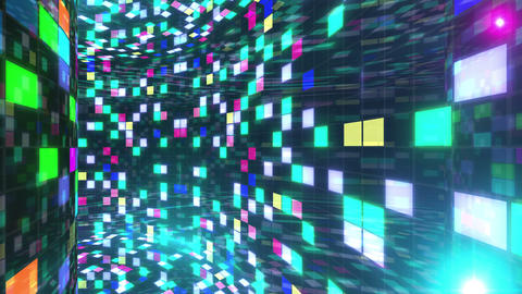 Disco Dance Floor Wall B 01f 4k Animation