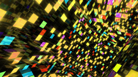 Disco Dance Floor Wall Bx 03 4k Animation