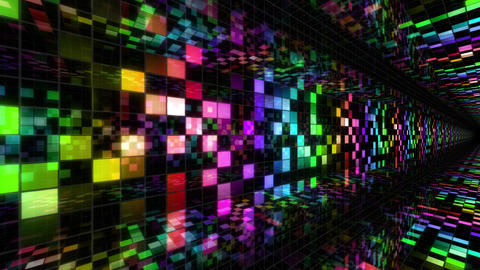 Disco Dance Tunnel A 04 4k Animation