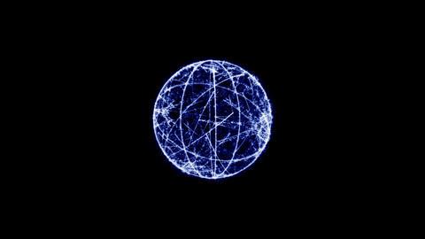 Ring sphere Corcovado CG動画