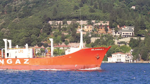 LPG Tanker Ship Footage