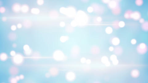 light blue blurred circles loopable background Animation