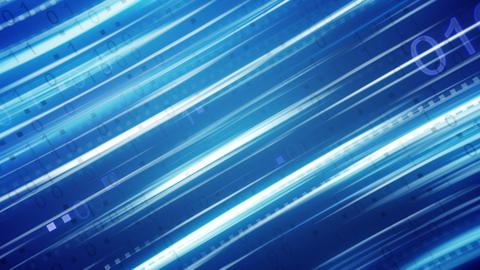 blue binary stripes loopable background Animation