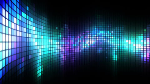 Dance Lights Wall Stock Video Footage