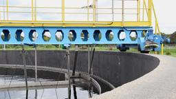 Sewage treatment plant - Waste water treatment 1 Footage