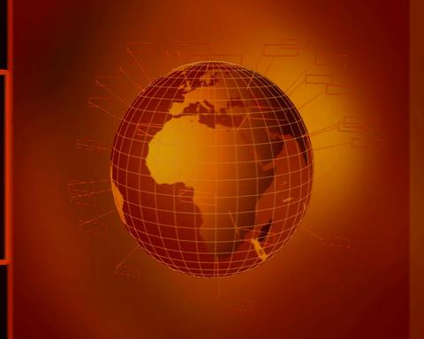 globe 60 Stock Video Footage