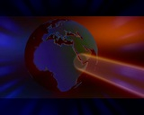 Globe 64 stock footage