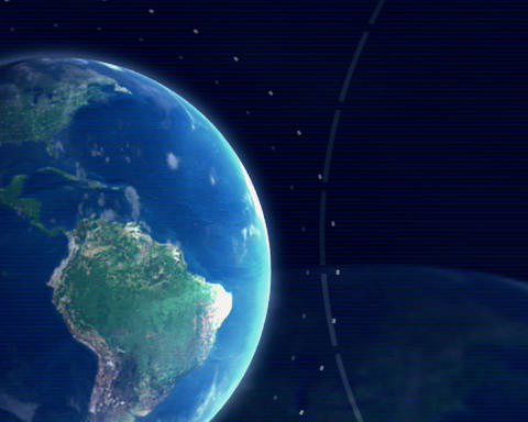 globe 68 Stock Video Footage